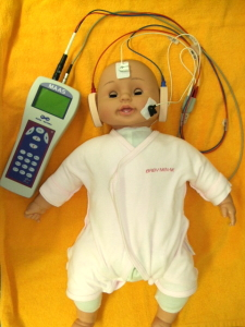 新生児聴覚検査(AABR:自動聴性脳幹反応検査)