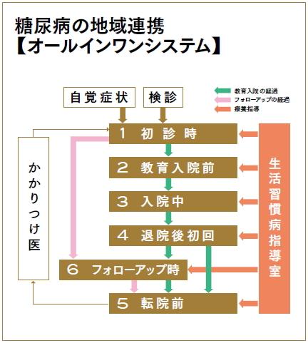 糖尿病の地域連携【オールインワンシステム】