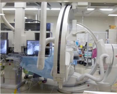 脳血管撮影室