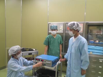術室での修正型電気けいれん療法